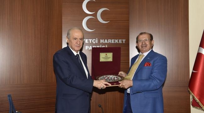 Ankara Kent Konseyi'nden Devlet Bahçeli'ye Ziyaret