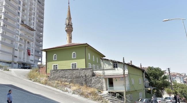 Çağlayan Mahallesi'ne Selçuklu Mimarisiyle Yeni Cami