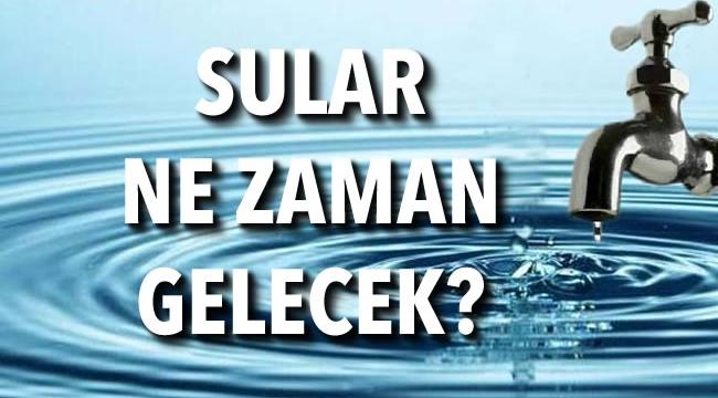 DİKKAT! Ankara'nın İki Büyük İlçesinde 7 Saat Su Kesintisi
