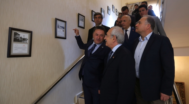 Kılıçdaroğlu Ankara Konağı'nda CHP Heyeti İle...