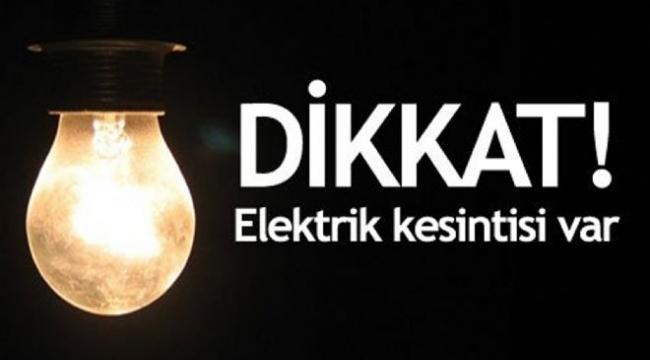 Ankara'da Büyük Elektrik Kesintisi! 16 İlçe Karanlıkta Kalacak