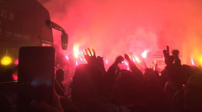 Beşiktaş Başkent'te Böyle Karşılandı