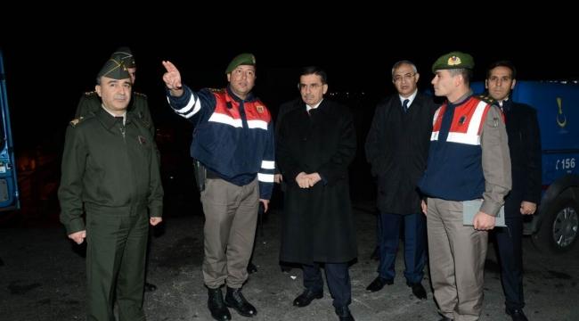 Ankara Valisi Ercan Topaca Asayiş Uygulamalarını Denetledi