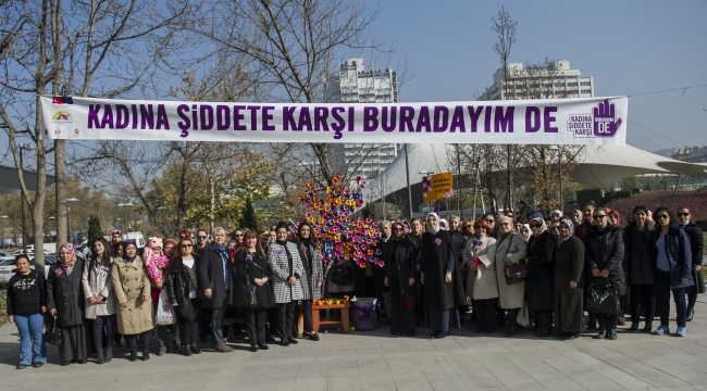 Büyükşehir'den ''Kadına Şiddete Hayır''
