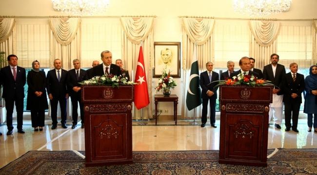 Erdoğan: ''Türkiye ve Pakistan Hep Birbirlerinin Yanında Oldu''