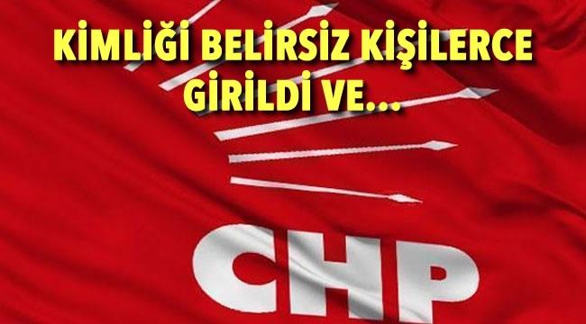 CHP Ankara İl Binasında Hareketli Anlar