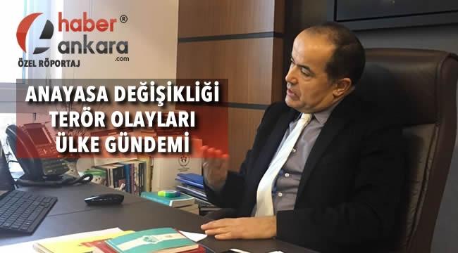 AK Parti Milletvekili Cengiz Aydoğdu Haber Ankara'ya Konuştu