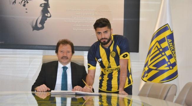 Ankaragücü'nde Yeni Transfer ''Çağatay Çeken''
