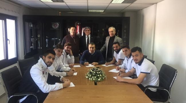 Hacettepe Spor Yeni Transferlerini Basına Tanıttı