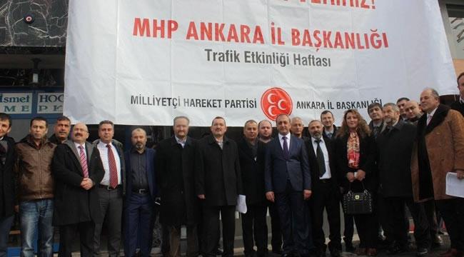 MHP Ankara'dan ''Fethi Sekin'' Anısına Kızılay'a Kan Bağışı