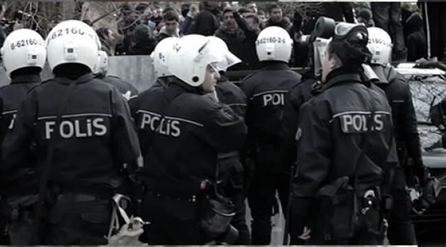 Ankara'da Binlerce Polisle Hava Destekli Operasyon