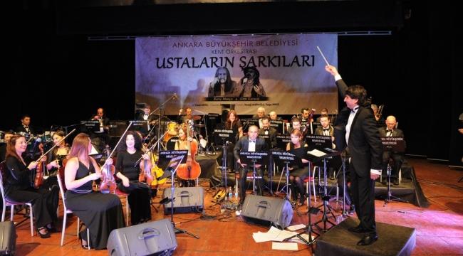 Ankara'da Unutulmaz Sanatçılar ile ''Ustalarla Konser'' Programı