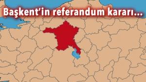 ANKARA'DA ''HAYIR'' ÖNDE ÇIKTI! İşte Ankara 16 Nisan Referandumu Sonucu