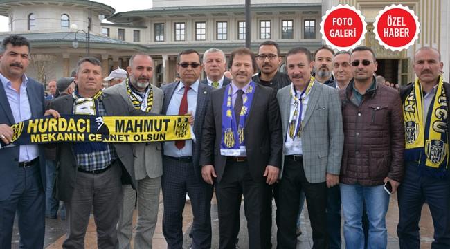 Ankaragücü Camiasından Cumhurbaşkanlığı Külliyesi'ne Çıkarma