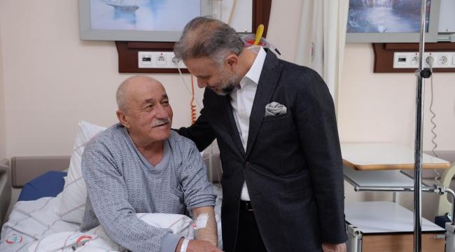Kahramankazan'da Referandum İçin Hastalara Taşıma Hizmeti