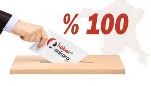 TAMAMI AÇILDI! Ankara'nın Evren İlçesi Referandum Sonuçları