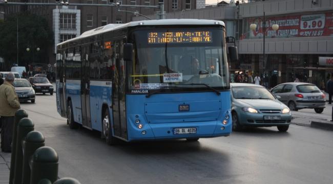 Mavi Otobüslerde mi 'Ankarakart'lı Oluyor?