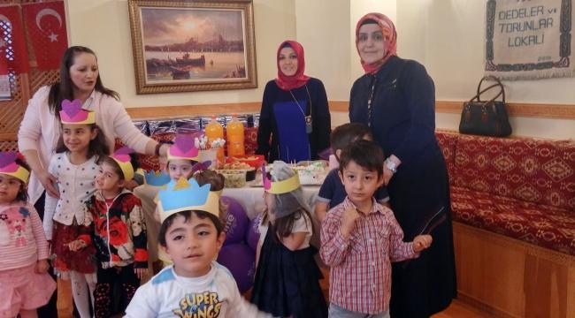 Pursaklar'da Down Sendromlu Çocuklardan Anneler Günü Sürprizi
