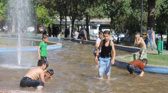 Büyükşehir Belediyesi'den Serinlemek İsteyenlere Mesaj Var