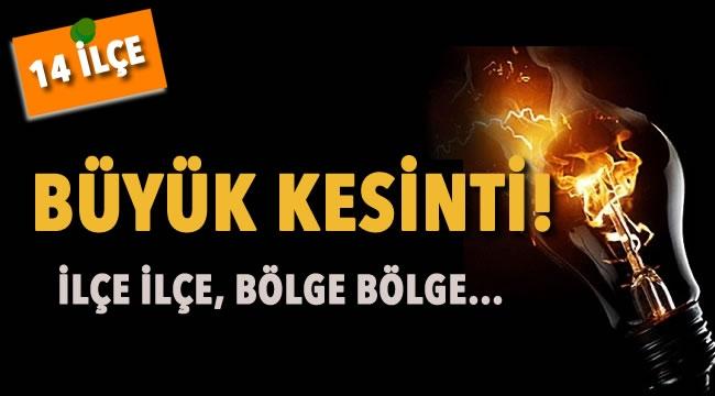 DİKKAT! Yeni Haftada Ankara'da 14 İlçe Karanlıkta Kakacak