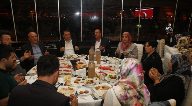Fatih Duruay'dan Şehit Aileleri ve Gaziler Onuruna İftar Yemeği