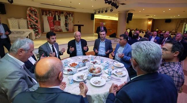 Fethi Yaşar, Kozaklıların İftar Yemeğine Konuk Oldu