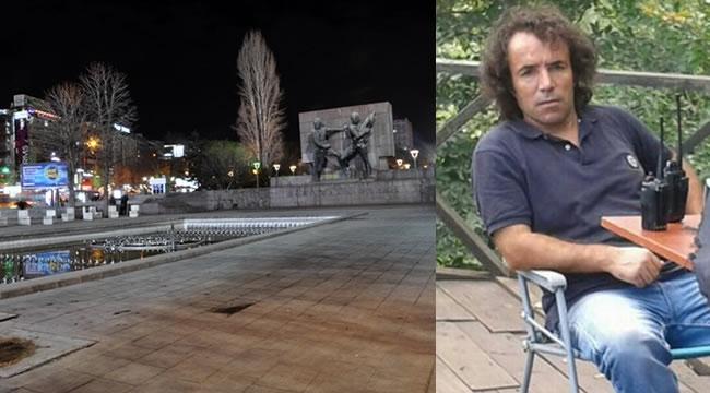 Kızılay'da Film Çekimi Paniğe Yol Açtı