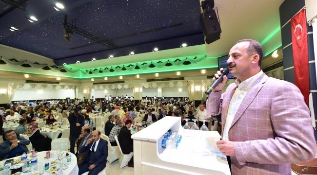 Mesut Akgül, Şehit ve Gazi Aileleri ile İftarda Buluştu