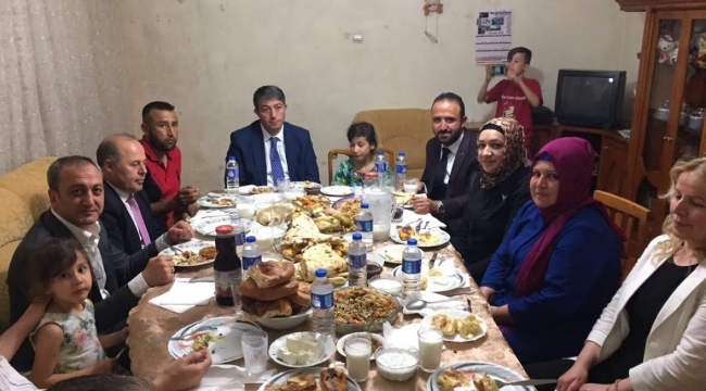 MHP'den Türkmen Soydaşlarımızla İftar