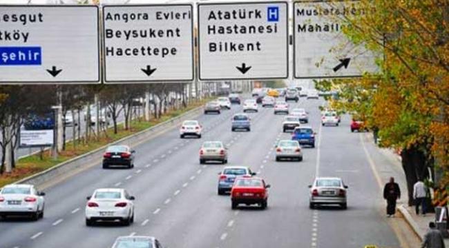 Tatil Başladı! Ankara'da Sokak ve Caddeler Boşaldı