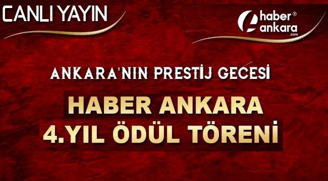 Ankaranin Prestij Gecesi Haber Ankaradan 4yıl ödül Töreni Resul