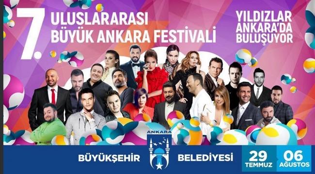 Büyük Ankara Festivali'ne Yıldız Yağmuru! İşte Tarih Tarih Konser Programı...