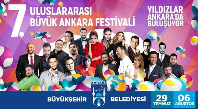 Büyük Ankara Festivalinde Hangi Sanatçılar Sahne Alacak?