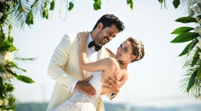 Düğünden Sonra Fahriye Evcen ve Burak Özçivit'ten Duygusal Paylaşımlar