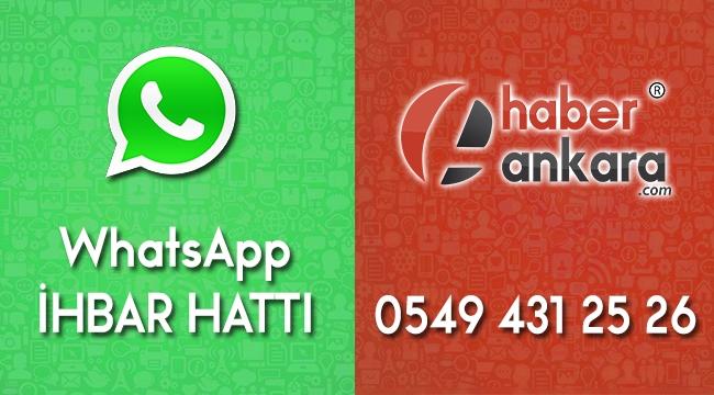 HABER ANKARA'YA GÖNDER; YAYINLAYALIM! İşte Whatsapp Ankara İhbar Hattı Bilgilerimiz...