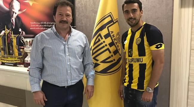 Ankaragücü'ne Yeni Transfer! 2 Yıllık Ön Sözleşme İmzalandı