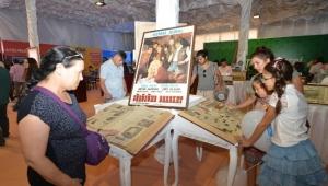 Büyük Ankara Festivali'ndeki ''Basın-Yayın Çadırı'' Nostalji Yaşatıyor