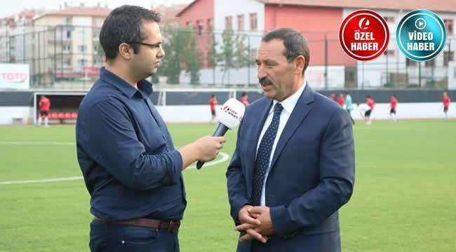 Etimesgut Belediyespor'u ve Yenilenen Atatürk Stadyumu'nu Başkan Enver Demirel İle Konuştuk