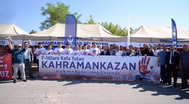 Kahramankazanlılar Sincan Cezaevi'ne Kamp Kurdu
