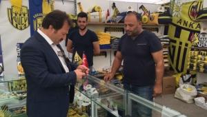 Mehmet Yiğiner'den Festival Alanı Ankaragücü Standına Ziyaret