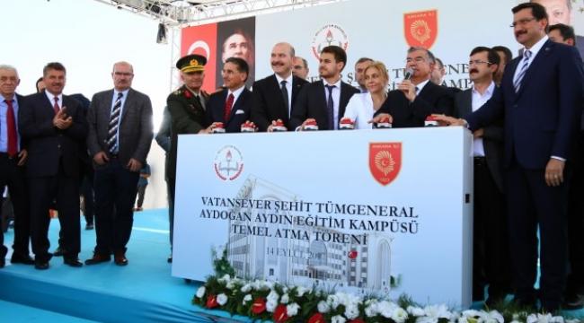 Keçiören'den Eğitime Dev Yatırım ''Şehit Tümgeneral Aydoğan Aydın Eğitim Kampüsü''
