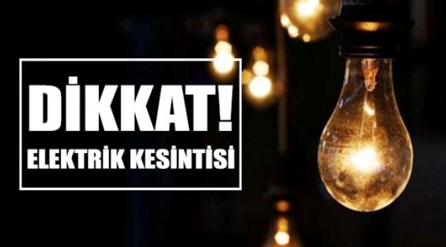 DİKKAT! Pazar Günü Ankara'da 8 İlçe Karanlıkta Kalacak! İşte Etkilenecek Bölgeler...