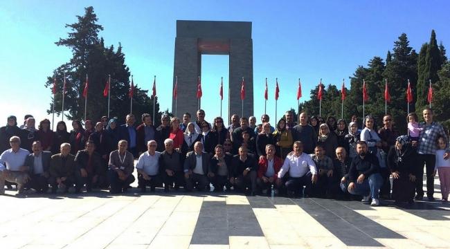 Keçiören'de Muhtarlar Çanakkale Ve Bursa'yı Gezdi