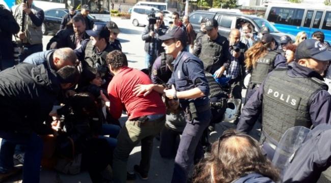 TBMM Önünde Arbede! Eylemcilere Polis Müdahalesi: 11 Gözaltı