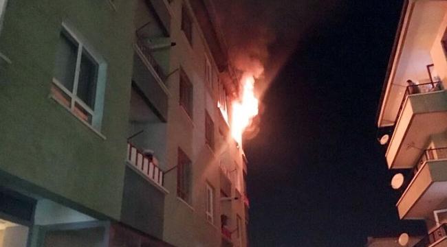 Başkent'te Korkutan Yangın! Ölümden Döndüler...