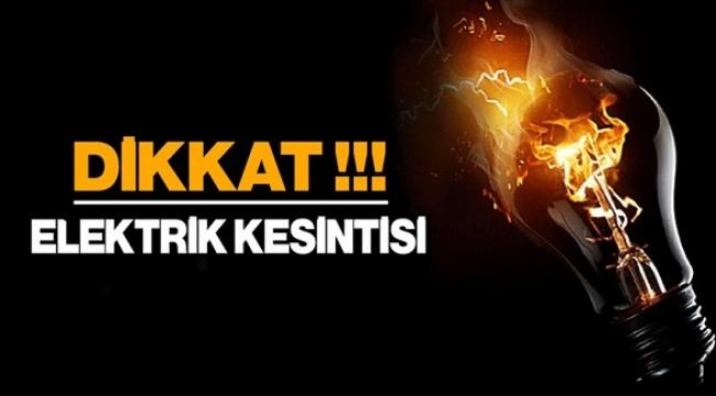 DEV KESİNTİ! Ankara'nın Yarısında Elektrik Yok...