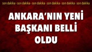 FLAŞ! Ankara Büyükşehir Belediyesi Yeni Başkanı Mustafa Tuna