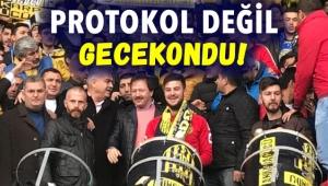 Başkan Mehmet Yiğiner ve Yöneticiler Kale Arkasında!