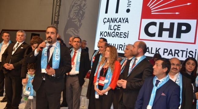 CHP Çankaya İlçe Başkanı Özüdoğru: ''Hep Birlikte Çalışacağız''