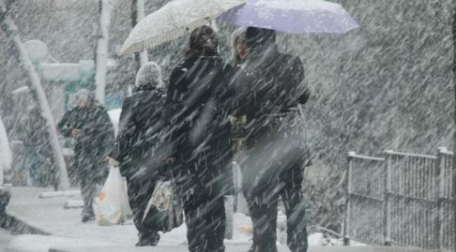 METEOROLOJİ'DEN FLAŞ AÇIKLAMA! Ankara'da Karlı Günler... İşte Hava Durumu